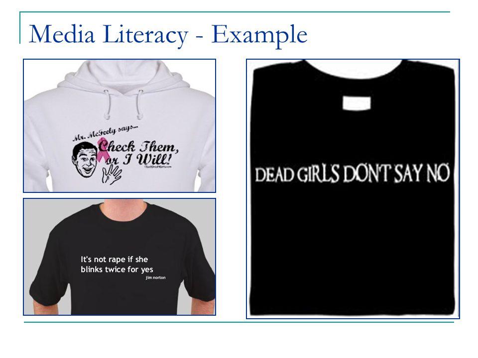 Media Literacy - Example