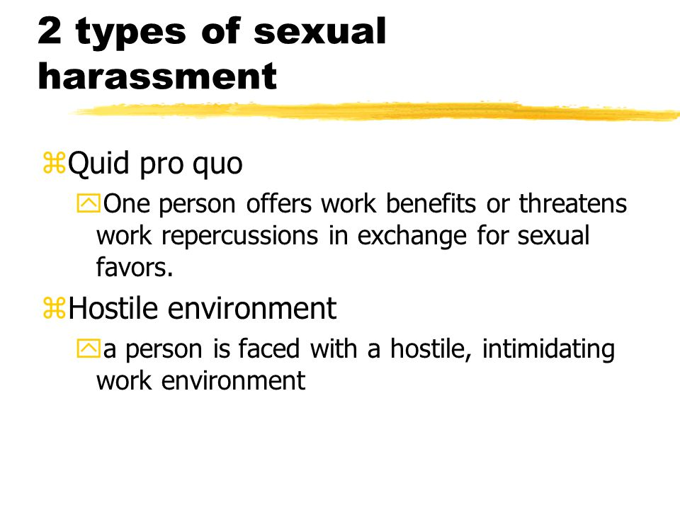 Do men and women define sexual harassment the same.