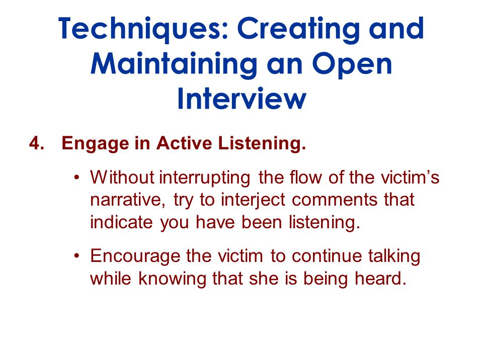 4.Engage in Active Listening.