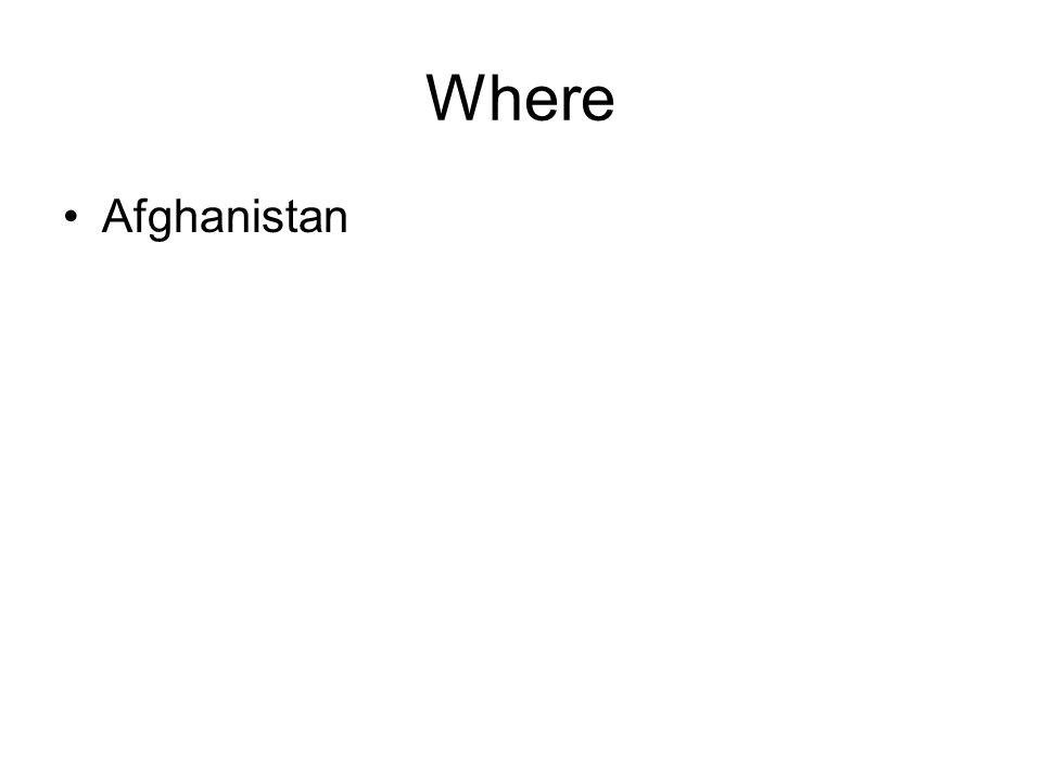 Where Afghanistan