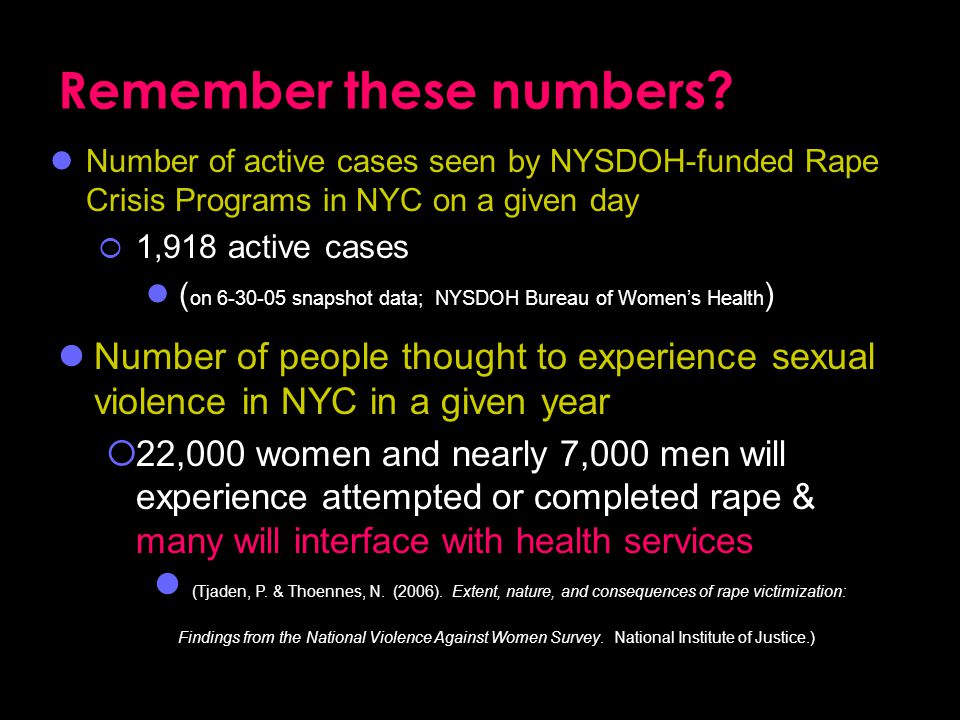 Remember these numbers.