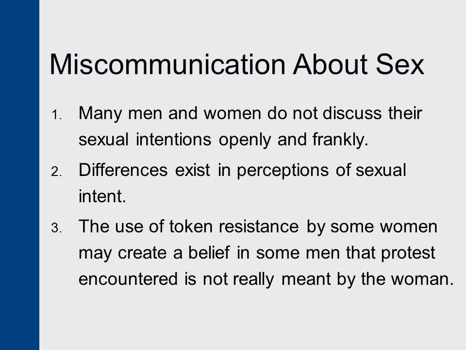 Miscommunication About Sex 1.