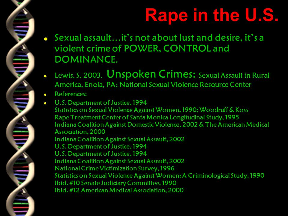 Rape in the U.S.