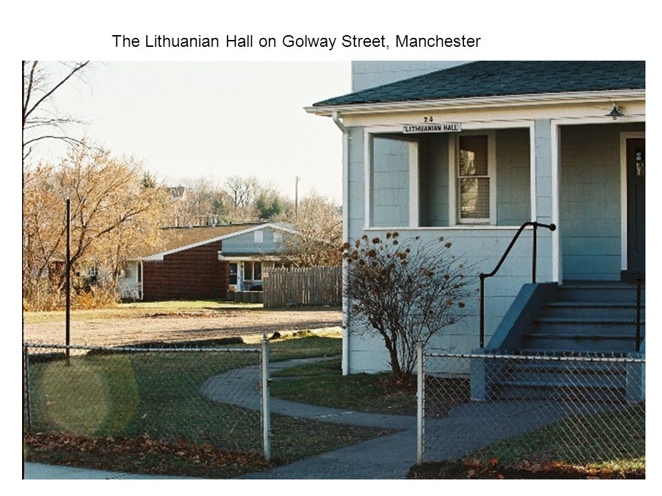 The Lithuanian Hall on Golway Street, Manchester