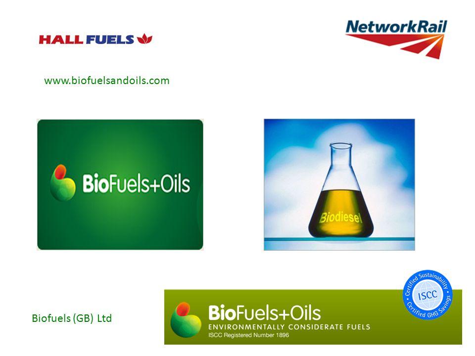 www.biofuelsandoils.com Biofuels (GB) Ltd