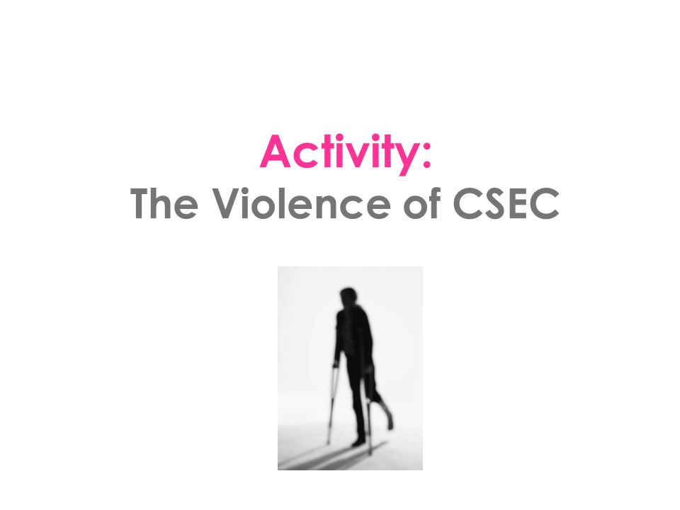 Reflection Questions: Why don't we normally recognize Stockholm Syndrome in CSEC victims.