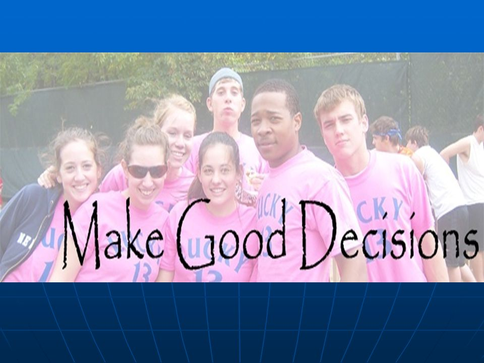 Make Good Decisions A Personal and Alcohol Safety Program Designed by UWM Students for UWM Students
