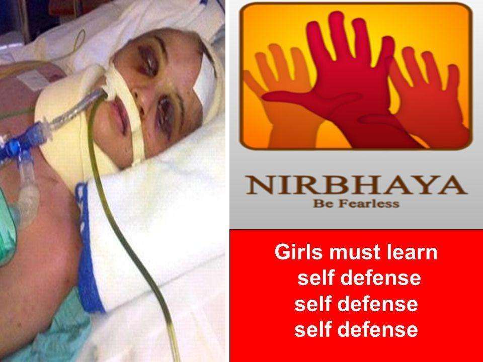 Girls must learn self defense