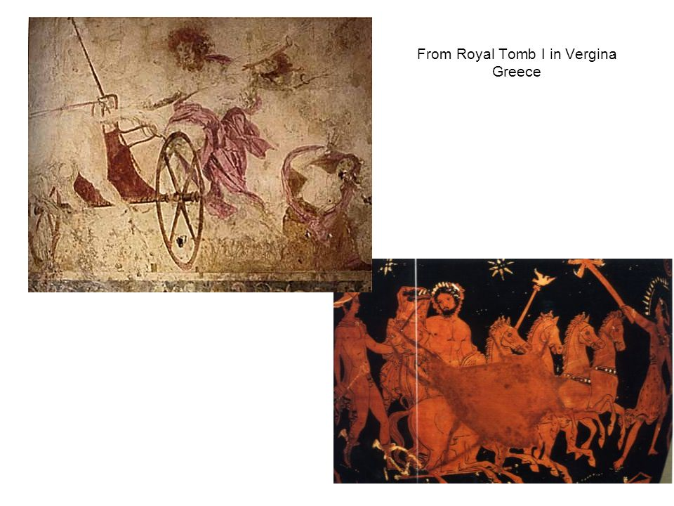From Royal Tomb I in Vergina Greece