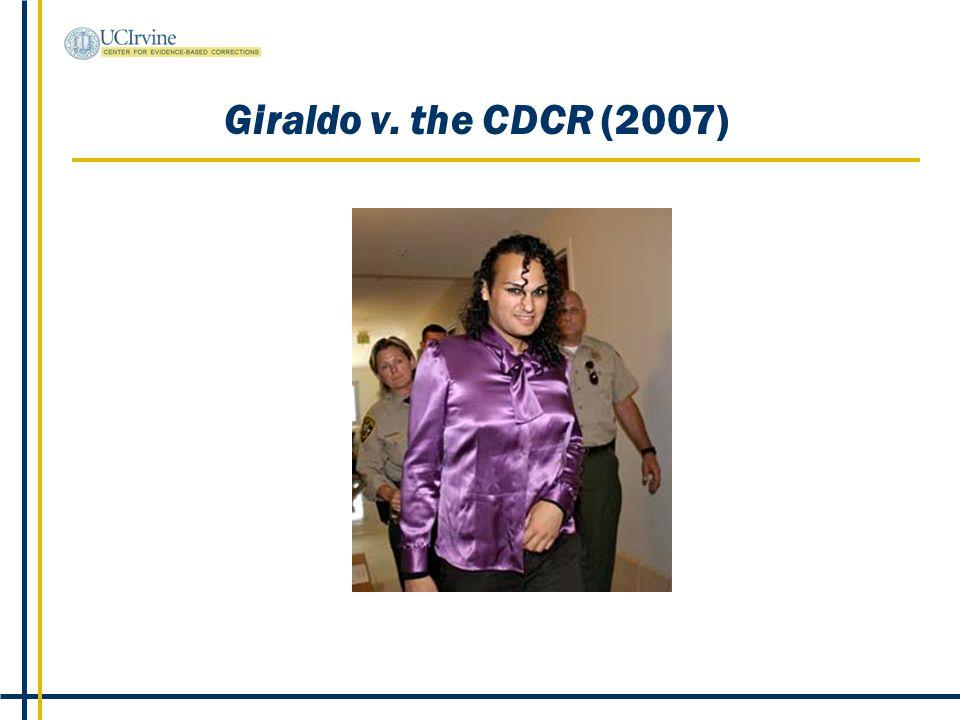 Giraldo v. the CDCR (2007)