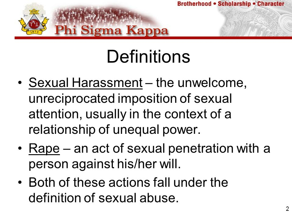an overview of sexual harassment and the solutions to prevent the act Employee training: what's required sexual harassment or participate in an investigation of an alleged act of discrimination or harassment is.