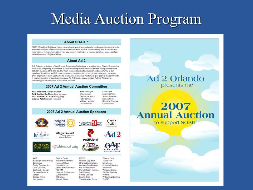 Media Auction Program
