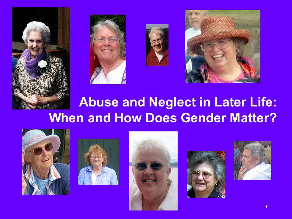 14 Early Parallels Elder Abuse: Was first identified and described in British scientific journals, by Baker in 1975 and Burston in 1977, and initially called Granny Bashing Domestic Violence: Described by Erin Pizzey in 1974, in her ground-breaking book Scream Quietly or The Neighbours Will Hear