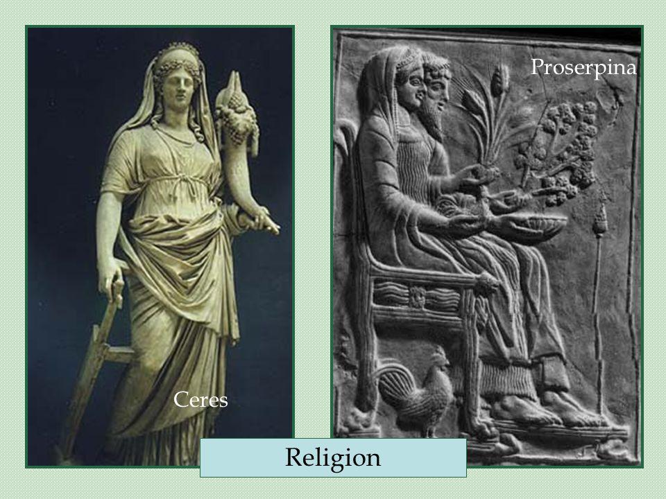 Ceres Proserpina Religion