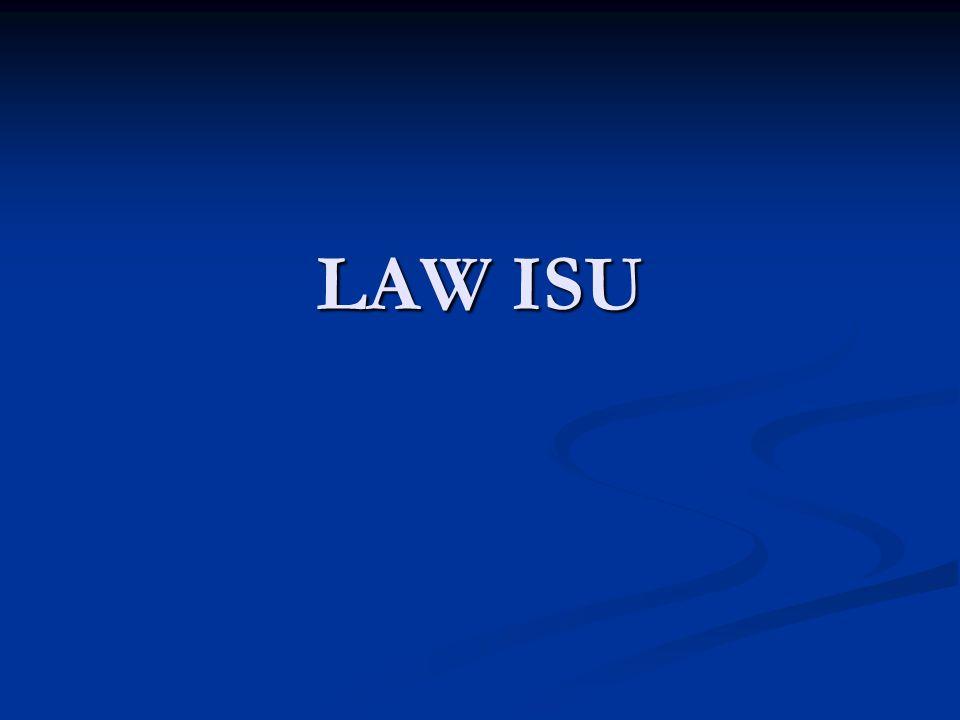 LAW ISU