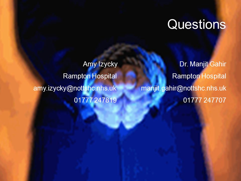 Questions Amy Izycky Dr.