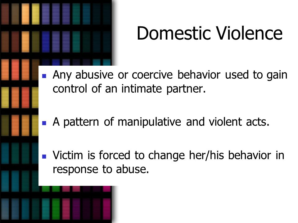 Similarities (Cont.) Cycle of Violence: Abuse does not happen all the time, it often occurs in a cyclical fashion.