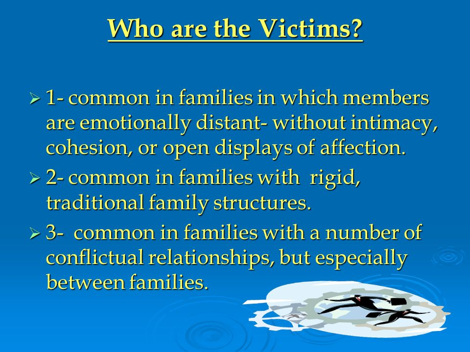 Who are the Victims.