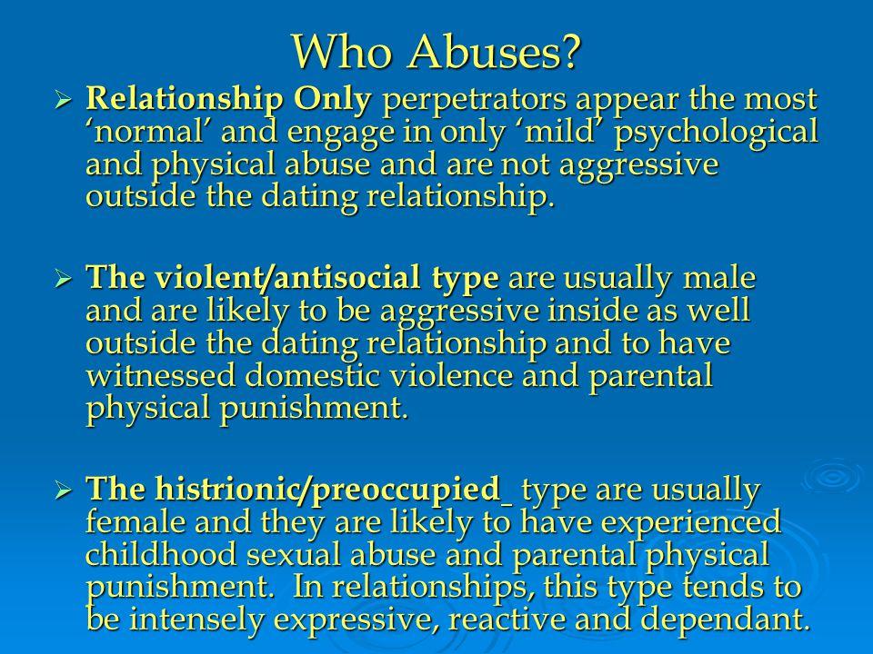 Who Abuses.