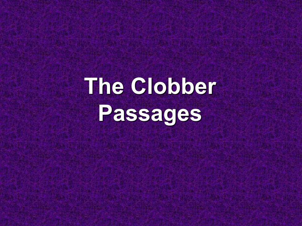 The Clobber Passages