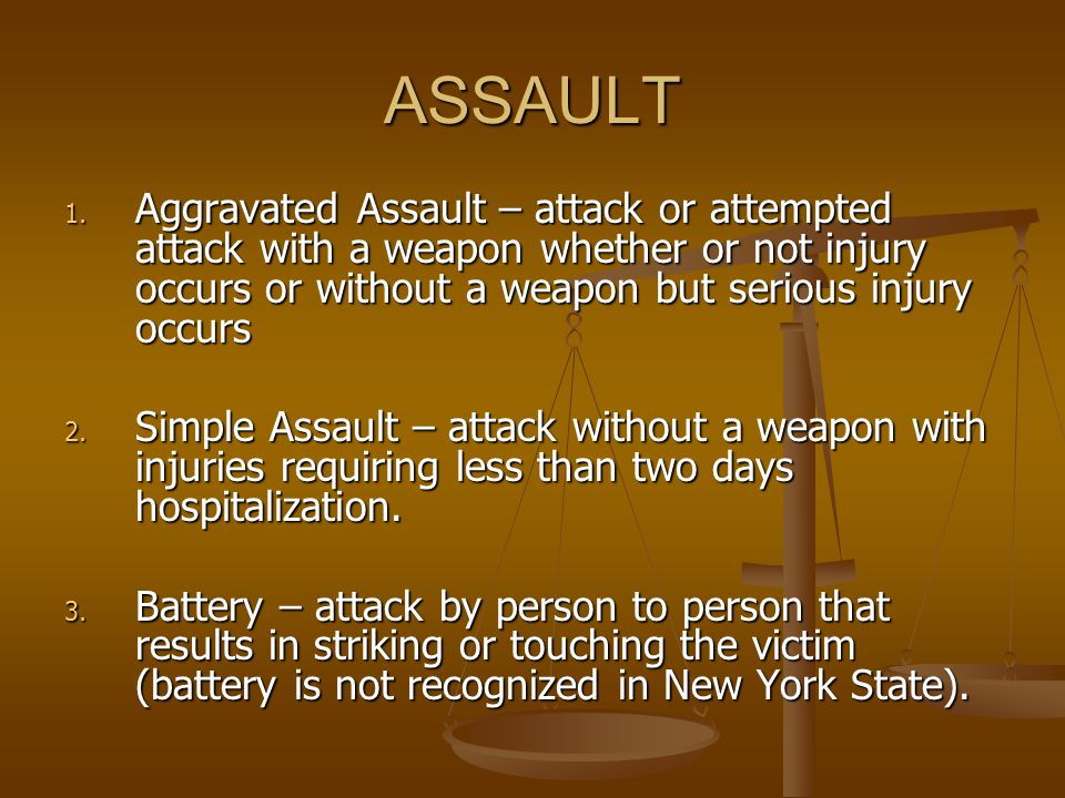 Assault and Abuse in the American Family Spousal Abuse: Assault against one's own spouse – husband or wife.