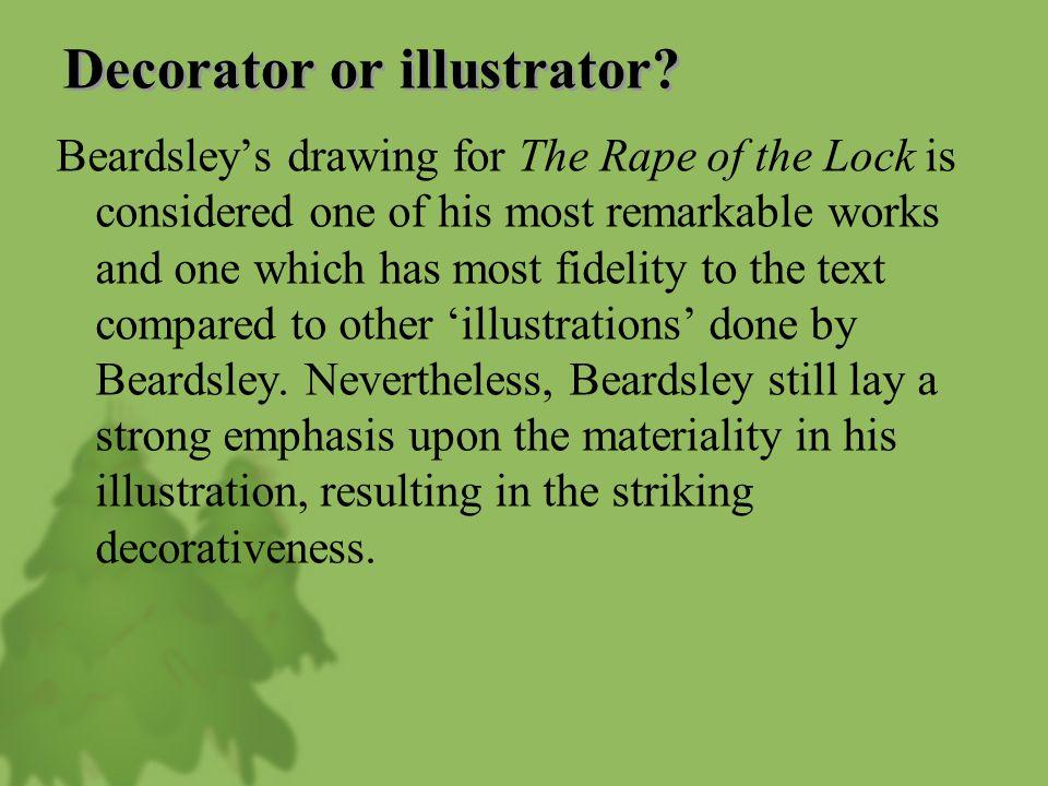 Decorator or illustrator.