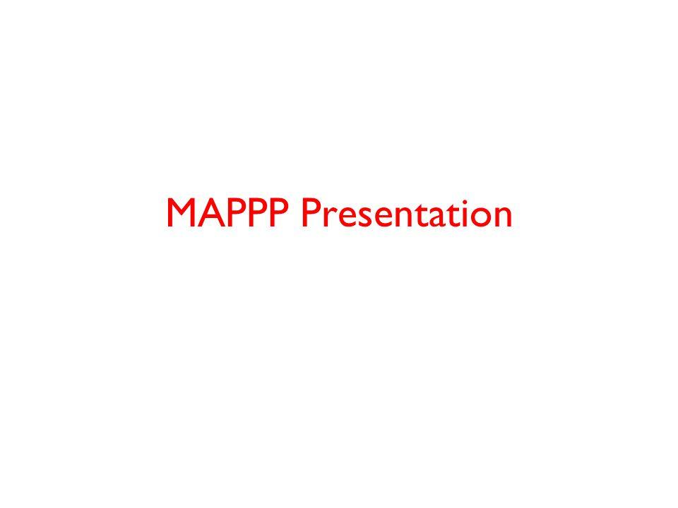 MAPPP Presentation