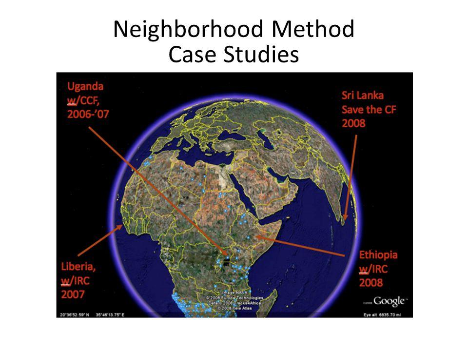Neighborhood Method Case Studies