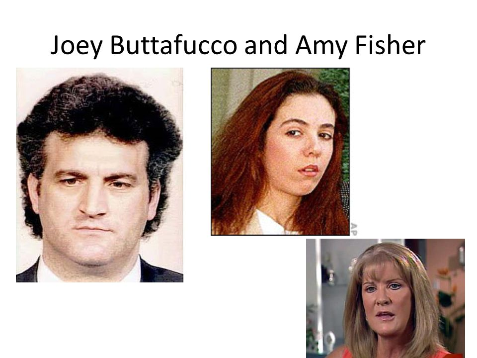 Joey Buttafucco and Amy Fisher