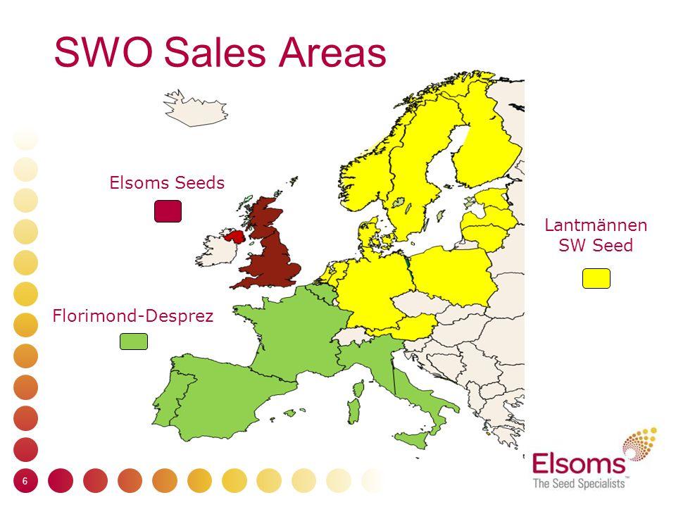 SWO Sales Areas 6 Lantmännen SW Seed Florimond-Desprez Elsoms Seeds