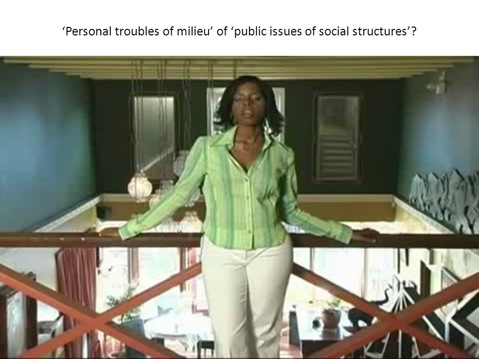 What is a social problem? What's a social problem?