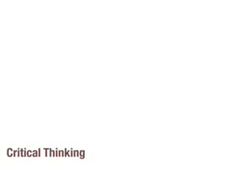 Recognizing fallacies of thinking