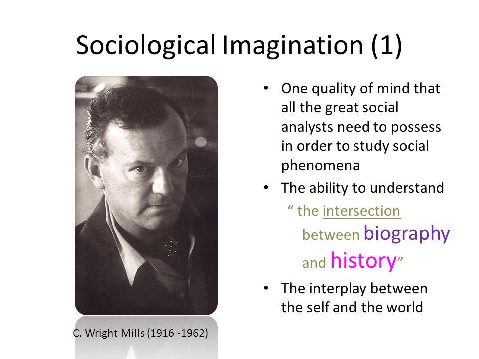 Sociological Imagination C.