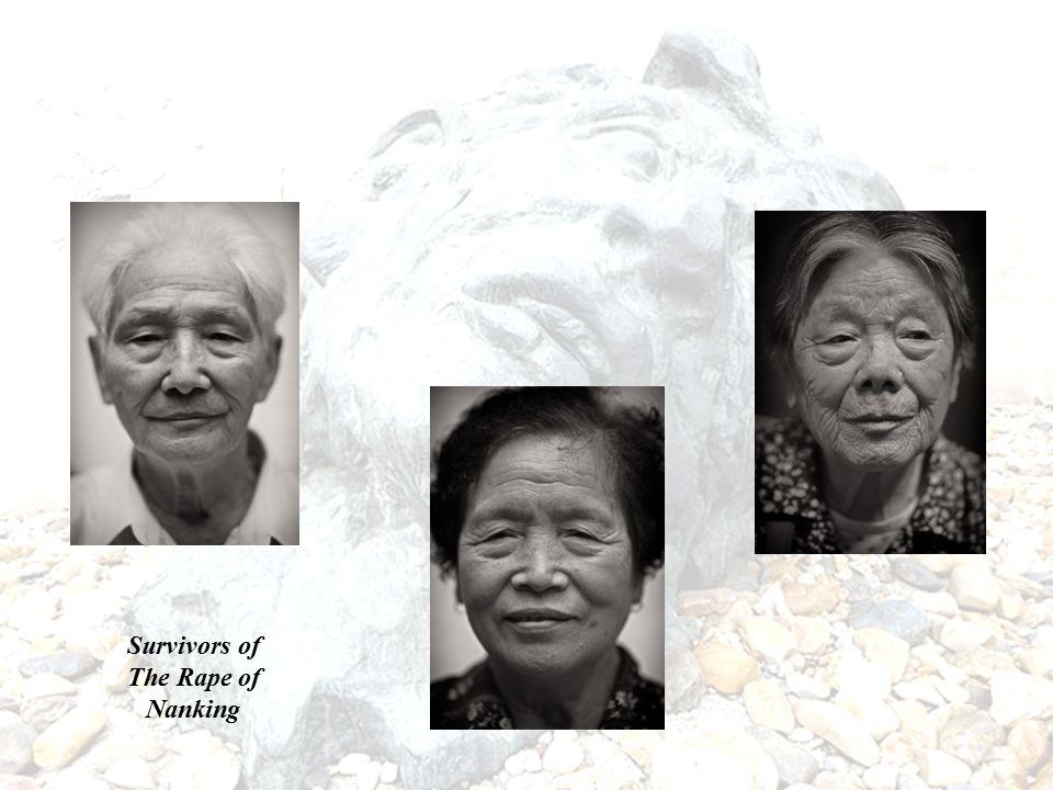 Survivors of The Rape of Nanking