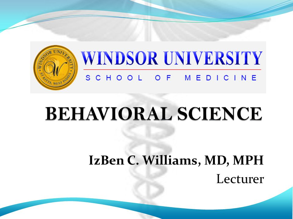 IzBen C. Williams, MD, MPH Lecturer