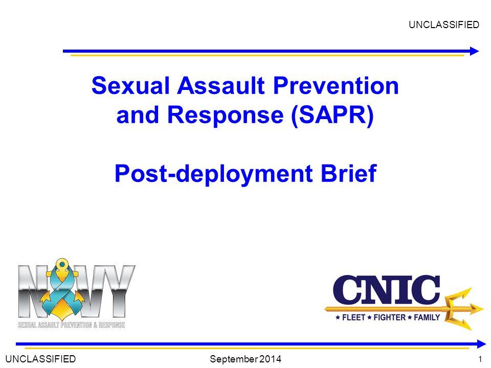 12 Response Protocol 12 Victim HCP MP SARC Unit SAPR Victim Advocate Command 1.
