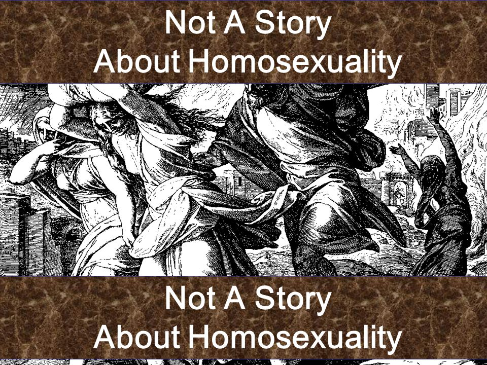Not A Story About Homosexuality Not A Story About Homosexuality