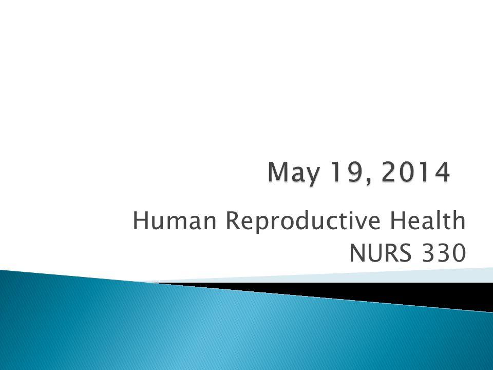 Human Reproductive Health NURS 330
