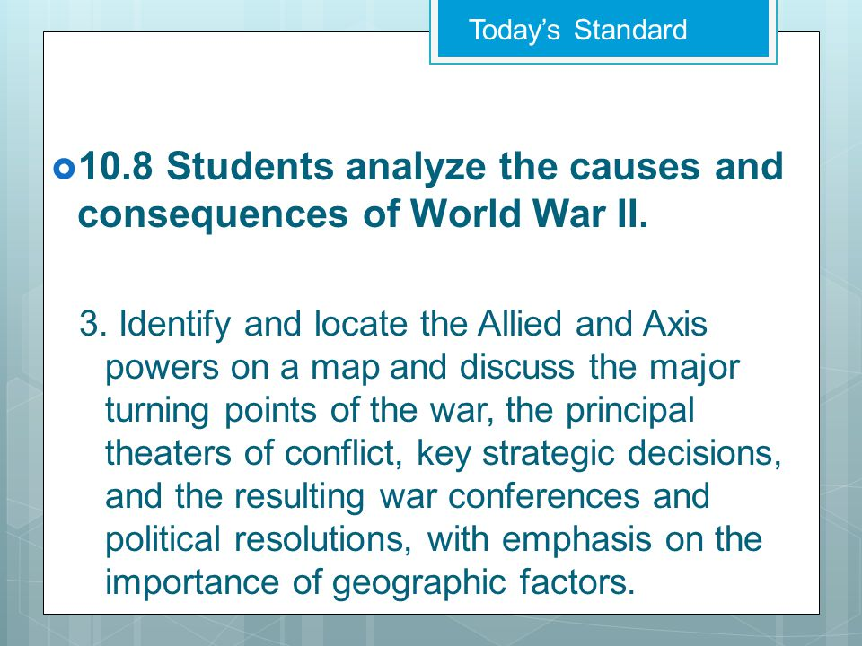  EQ: Which regions were attacked and occupied by the Axis powers and what was life like under their occupation?