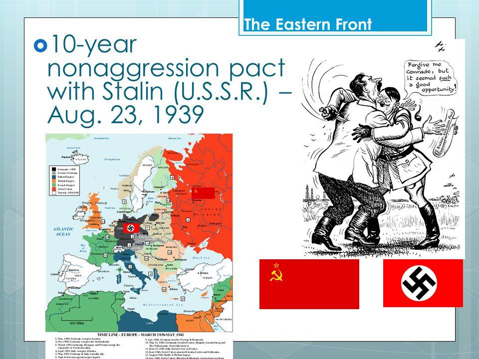  Hitler takes Balkans in April 1941–  Yugoslavia & Greece The Eastern Front