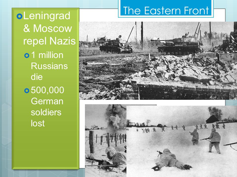 The Eastern Front  Hitler invades U.S.S.R.