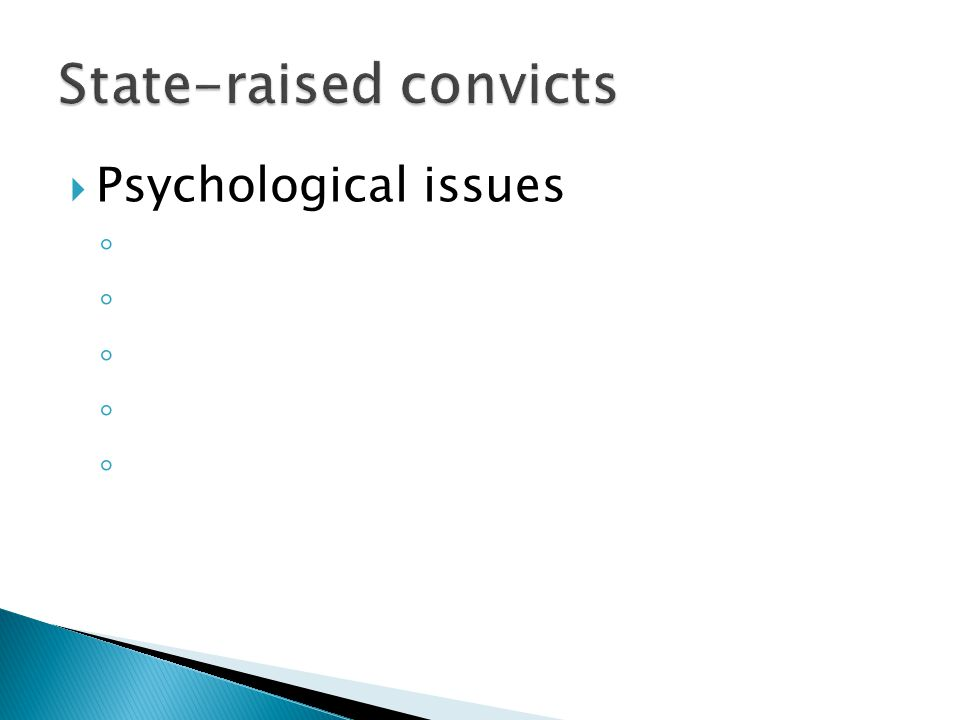  Enterprise had ◦  Increases prisoner abuse  Increased number of mistakes due to inexperience  Can make the corporation look better