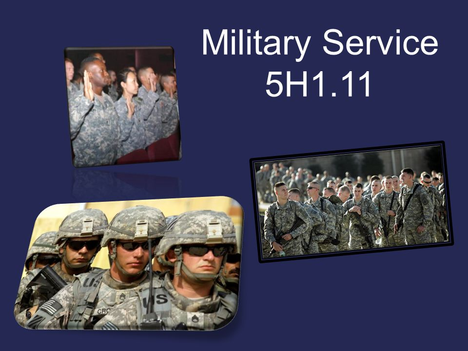 Military Service 5H1.11