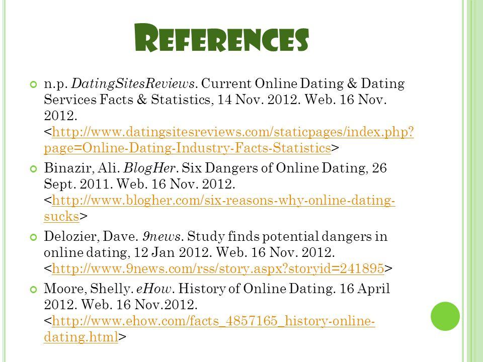 R EFERENCES n.p. DatingSitesReviews.