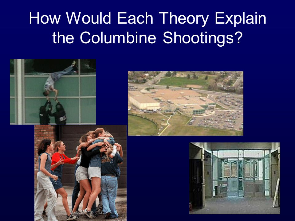 How Would Each Theory Explain the Columbine Shootings?