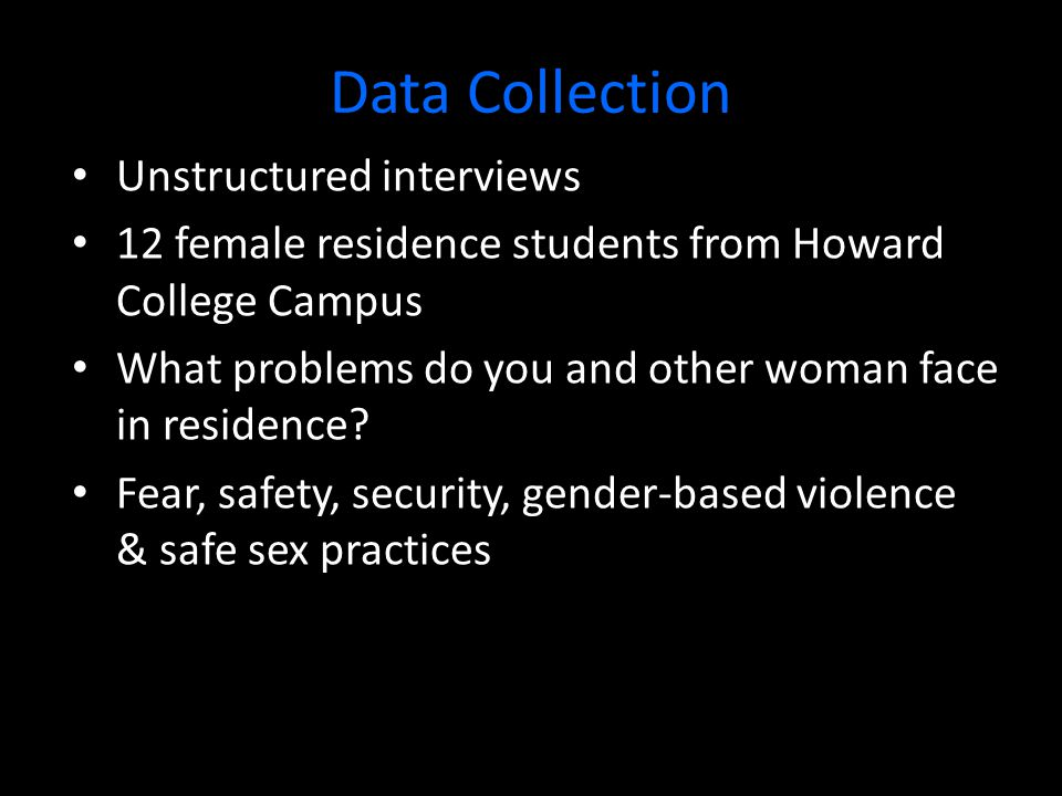 Data Analysis Discourse Analysis  Discourses of Fear  Discourses of Women's Responsibility  Discourse of Male-Dominated Relationships  Discourse of Sex-as-Exchange  Stranger Danger Discourse  Abuse of Power Discourse  Discourse of Speaking and Silence