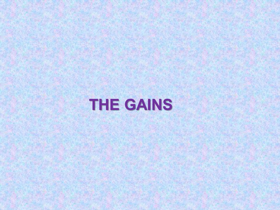 THE GAINS