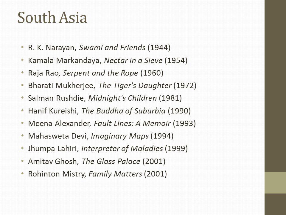 South Asia R. K.