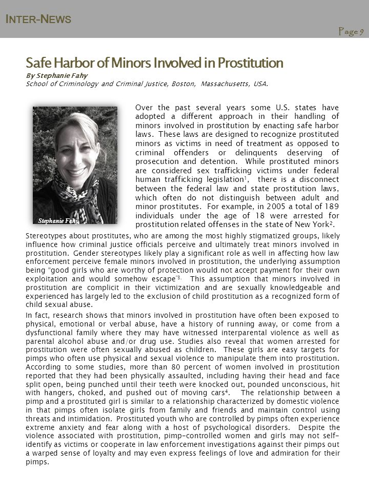 I NTER -N EWS Page 10 Forthcoming Publication in the International Journal of Comparative and Applied Criminal Justice : Violence Against Women on Public Transport in Nepal: Sexual Harassment and the Spatial Expression of Male Privilege by Gita Neupane & Meda Chesney-Lind Violence against women in public space is a serious, worldwide problem.
