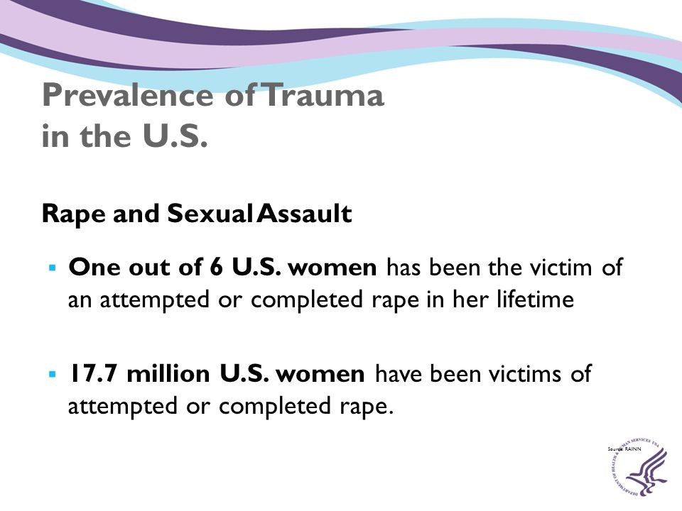 Intimate Partner Violence  1 out of 3 women experience at least one physical assault by a partner.